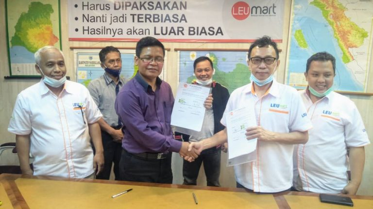 Distribution Centre LEU MUI hadir di Sukabumi Jawa Barat Bantu Meningkatkan Pendapatan Warung kecil