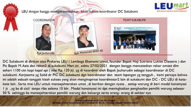 Kisah Sukses DC LEU Sukabumi